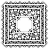 Bordes cuadrados — Vector de stock