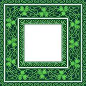 Editable celtic borders — Stock Vector
