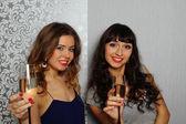 Glamour girls — Stockfoto
