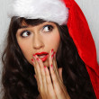 Stock Photo: Santa Portrait