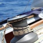 Sail Boat Winch — Stock Photo #17443083