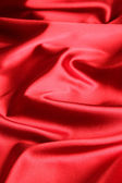 Red satin background — 图库照片