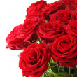 图库照片: Bouquet of red roses