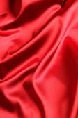 Red satin background — Stockfoto