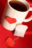 Tea love — Stock Photo