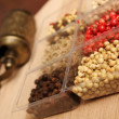 Spices and Mill - Stock Photo