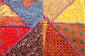 Ethnic fabric — Stock Photo