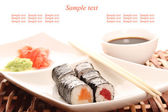 Sushi restaurant — Stock Photo
