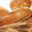 Stock Photo: Isolated bread