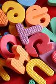 Alphabet lettres — Photo