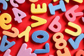 Letters alphabet — Stock Photo