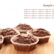 Chocolate muffins — Stock Photo #25108707