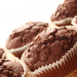 Stock Photo: Chocolate muffins