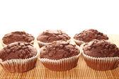 Chocolate muffins — Stock Photo