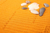 Stones in the sand — Stock Photo