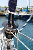 Sail yacht — Stock Photo