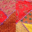 Ethnic fabric — Stock Photo