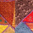Stock Photo: Ethnic fabric