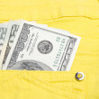 Money in the pocket — Stock Photo #2732967