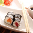 Sushi on a plate — Stock Photo #27516141