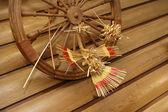 Slavic traditions in the interior — Stock Photo