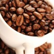 Cup of coffee beans — Lizenzfreies Foto