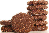 Chocolate cookies — Stockfoto