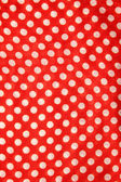 Tablecloth texture-round fabric — Stock Photo