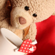 Stock Photo: Romantic Teddy Bear