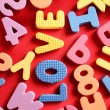 Stock Photo: Letters alphabet