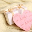 Two gift boxes — Stock Photo