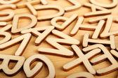 字母 — 图库照片