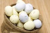 Chocolate Easter eggs — Stockfoto