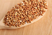 Buckwheat grain — Stock Photo