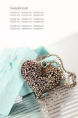 Heart Necklace — Foto Stock