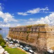 Stock Photo: Old Byzantine fortress in Corfu