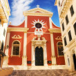 The church of Mitropoli Panagias in Corfu Old Town — Stock Photo