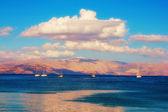 Korfu stadt seelandschaft — Stockfoto