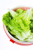 Lettuce ready for a salad — Stock Photo