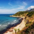 Untouched beach in Alonaki, Corfu — Stock Photo