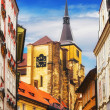 Part of Prague Old Town — Stockfoto