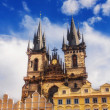 Stock Photo: St Mary Church in Prague