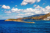 Port on the island of Naxos, Greece — Stockfoto