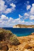 Santorini seascape — Foto Stock