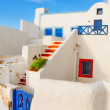 Generic architecture details, Oia, Santorini — Stock Photo #46526883