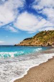 Xanemos beach, ilha de skiathos, Grécia — Fotografia Stock