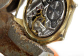 Oude horloges — Stockfoto