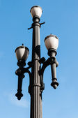 старый фонарный столб — Стоковое фото