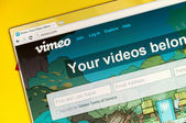 Vimeo video — Stock Photo