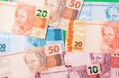 Brazilian Money — Stock Photo
